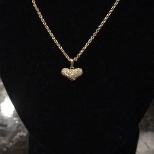 Beautiful Kate spade crystal heart